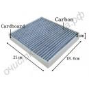 Салонный угольный фильтр 72880FE000 для SUBARU Impreza