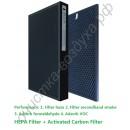 HEPA и угольный фильтр для Panasonic F-VXJ90C F-VJL90C F-VJL75C