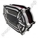 Воздухоочистительный фильтр Cnc Cut Kit с аксессуарами для Harley