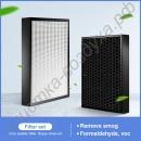 H12 Hepa и угольный фильтр FY3137 для 3000i AC3252 AC3254 AC3256 AC3260